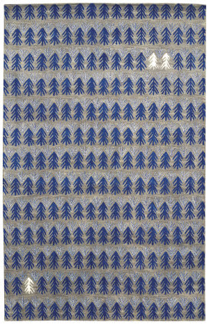 Capel Genevieve Gorder Twigs 3270 Royal Area Rug