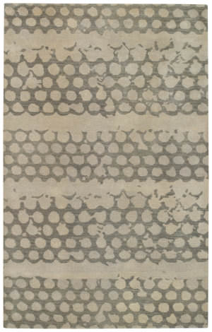 Capel Bee Hives 3282 Grey Area Rug