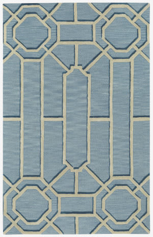 Capel Williamsburg Ironworks 3306 Pale Blue Area Rug