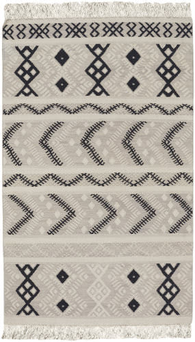 Capel Genevieve Gorder Abstract 3642 Mist Area Rug