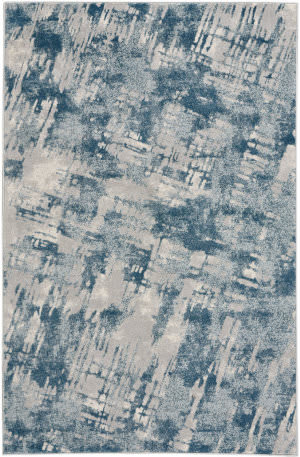 Capel Kevin O'brien Sketch 3710 Blue Area Rug