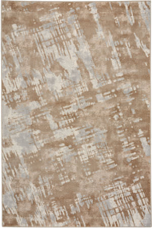 Capel Kevin O'brien Sketch 3710 Tan Light Blue Area Rug