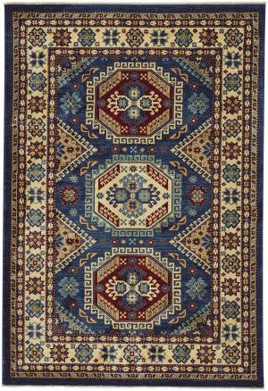Capel Anatolia Kazak 3800 Teal Area Rug