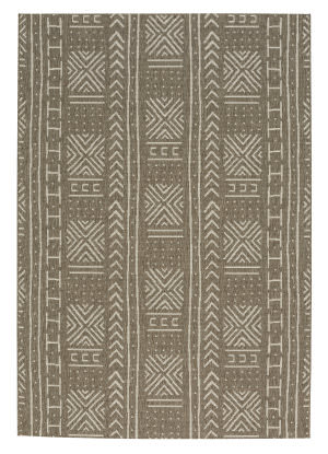 Capel Genevieve Gorder Elsinore Mali Cloth 4722 Wheat Area Rug