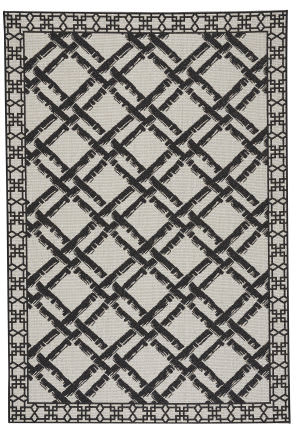 Capel Williamsburg Elsinore Bamboo Trellis 4724 Cinders Area Rug