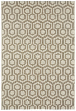 Capel Elsinore Honeycombs 4728 Wheat Area Rug