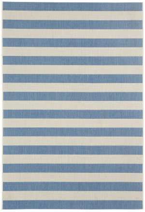 Capel Elsinore Stripe 4730 Blueberry Area Rug