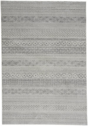 Capel Channel 4742 Nickel Area Rug