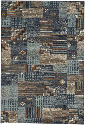 Capel Jacob Panel 4822 Multitones Area Rug