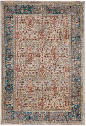 Capel Taraji-Tabriz 4853 Ivory Blue Area Rug