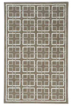 Capel Anthony Baratta Framework 9181 Brown Area Rug