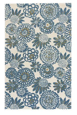 Capel Genevieve Gorder Pompon 9199 Royal Area Rug