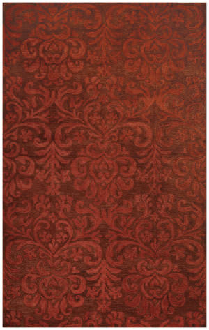Capel Williamsburg Lace 9225 Brick Area Rug