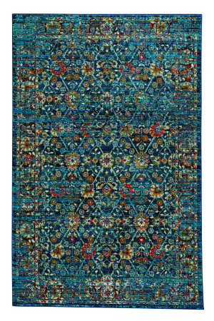 Capel Benz-Kayseri 3822 Dark Blue Area Rug