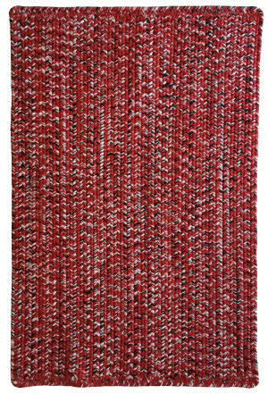 Capel Team Spirit 0301 Red Black Area Rug