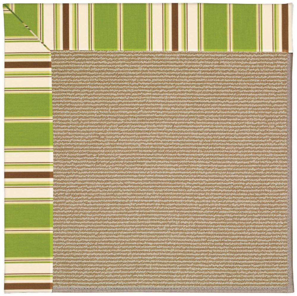 Capel Zoe Sisal 1995 Green Stripe | Rug