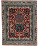 Capel Biltmore Plantation Journet 1111 Dark Red Blue Area Rug
