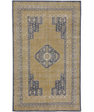 Capel Caria 1940 Golden Dark Blue Area Rug