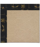 Capel Zoe Cane Wicker 1990 Jet Black Area Rug