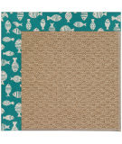 Capel Zoe Raffia 1992 Sea Green Area Rug