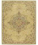 Capel Smyrna Medallion 3156 Yellow Area Rug
