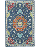Capel Biltmore Burgos 3291 Dark Blue Area Rug