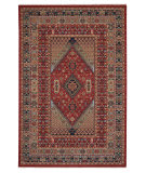 Capel Kindred-Heriz 3450 Sienna Green Area Rug