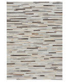 Capel Butte Braided Stripe 3677 Ash Multi Area Rug