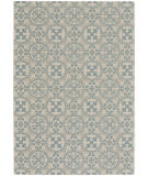 Capel Elsinore Tile 4737 Blue Area Rug