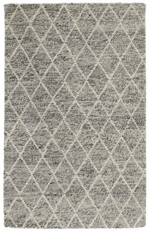 Classic Home Diamond Looped 3003 Grey Area Rug