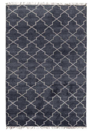 Classic Home Terrace 3003 Navy Area Rug