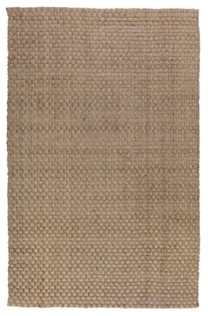 Classic Home Basket Weave 3004 Natural - Gray Area Rug