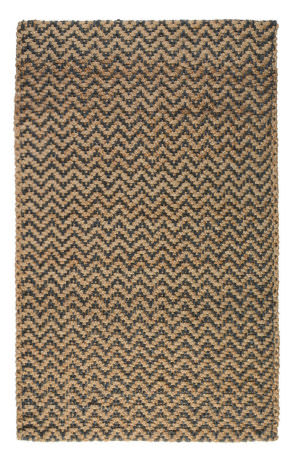 Classic Home Herringbone 3006 Grey - Natural Area Rug