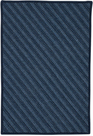 Colonial Mills Blue Hill Bi51 Navy Area Rug