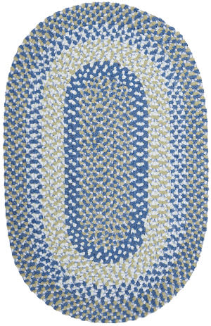 Colonial Mills Blokburst Bk59 Blueberry Pie Area Rug