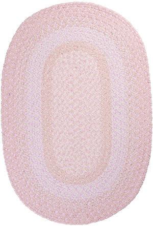 Colonial Mills Blokburst Bk78 Blush Pink Area Rug