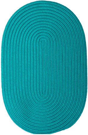 Colonial Mills Boca Raton Br56 Turquoise Area Rug