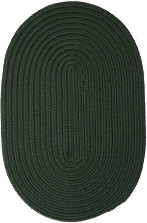 Colonial Mills Boca Raton Br64 Dark Green Area Rug