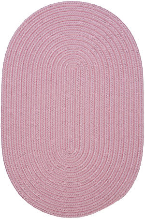Colonial Mills Boca Raton Br77 Light Pink Area Rug