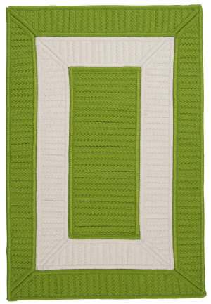 Colonial Mills Rope Walk Cb91 Bright Green Area Rug