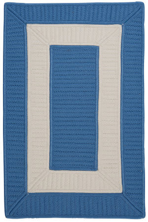 Colonial Mills Rope Walk Cb95 Blue Ice Area Rug