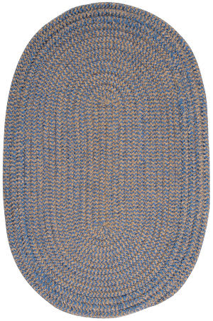 Colonial Mills Softex Check Cx25 Blue Ice Check Area Rug