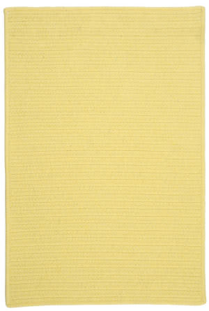 Colonial Mills Courtyard Cy53 Yellow Area Rug