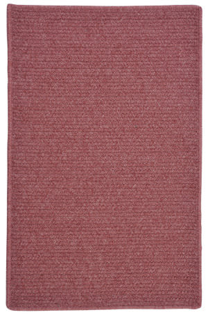 Colonial Mills Courtyard Cy55 Mauve Area Rug