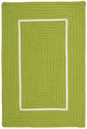 Colonial Mills Doodle Edge Fy62 Bright Green Area Rug