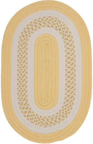 Colonial Mills Flowers Bay Fb31 Yellow Area Rug
