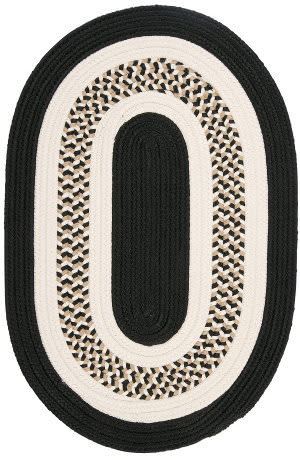 Colonial Mills Flowers Bay Fb41 Black Area Rug