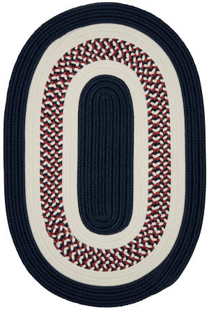 Colonial Mills Flowers Bay Fb50 Patriot Blue Area Rug