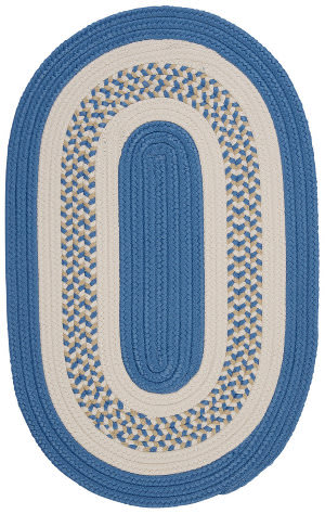 Colonial Mills Flowers Bay Fb51 Blue Area Rug