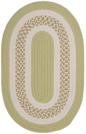 Colonial Mills Flowers Bay Fb61 Light Green Area Rug